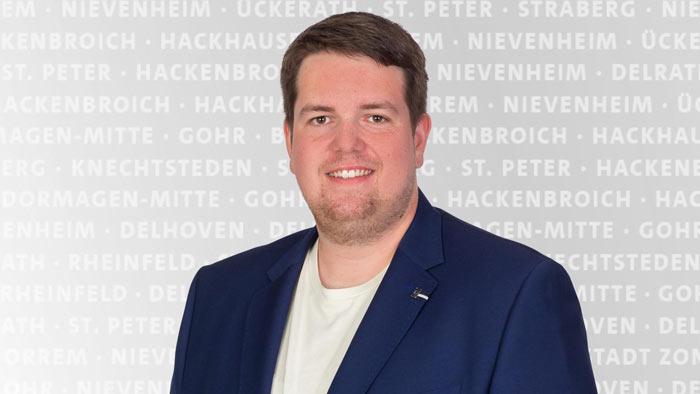 Laurenz Tiegelkamp ist neuer Vorsitzender der SPD Zons-Stürzelberg